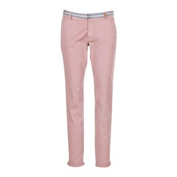 vaatteet Naiset 5-taskuiset housut Esprit HOUISSA Pink