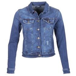 vaatteet Naiset Farkkutakki Esprit CROVETTA Blue
