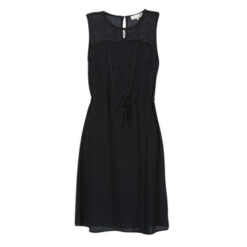 vaatteet Naiset Lyhyt mekko Cream DONA Black