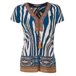 vaatteet Naiset Lyhythihainen t-paita Derhy JAQUERIE Blue
