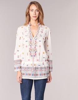 vaatteet Naiset Tunika Derhy DETENTE White / Pink