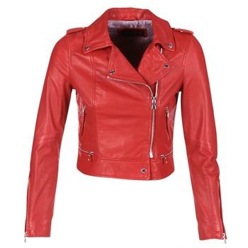vaatteet Naiset Nahkatakit / Tekonahkatakit Oakwood YOKO Red