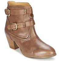 kengät Naiset Nilkkurit Casual Attitude SANOU Brown