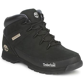 kengät Miehet Bootsit Timberland EURO SPRINT HIKER Black