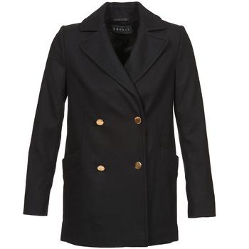 vaatteet Naiset Paksu takki Esprit WATTS Black
