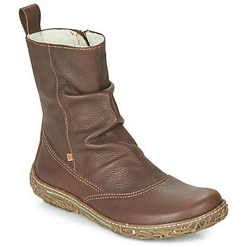 kengät Naiset Bootsit El Naturalista NIDO TRAMBU Brown