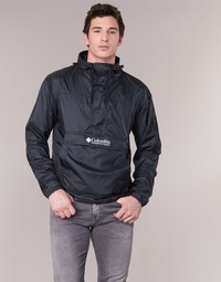 vaatteet Miehet Tuulitakit Columbia CHALLENGER Black