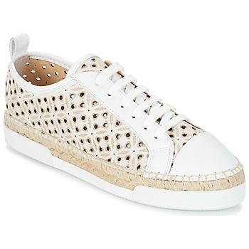 kengät Naiset Matalavartiset tennarit Sonia Rykiel 622348 White