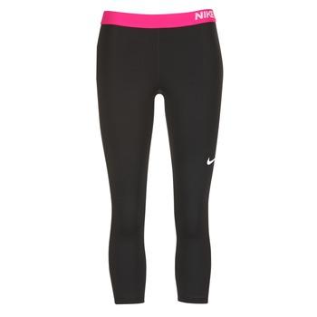 vaatteet Naiset Legginsit Nike NP CL CAPRI Black / Pink