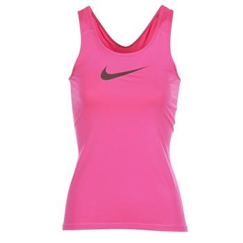 vaatteet Naiset Hihattomat paidat / Hihattomat t-paidat Nike NIKE PRO COOL TANK Pink