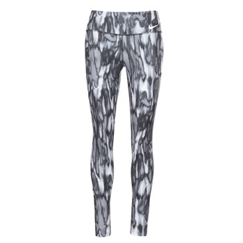 vaatteet Naiset Legginsit Nike PWR LGND TGHT PRNT Grey / Black