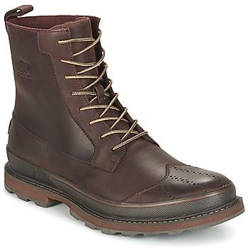 kengät Miehet Bootsit Sorel MADSON WINGTIP BOOT Brown