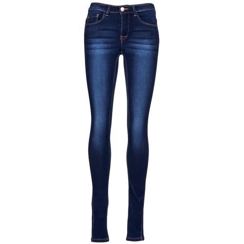 vaatteet Naiset Slim-farkut Only ULTIMATE Blue