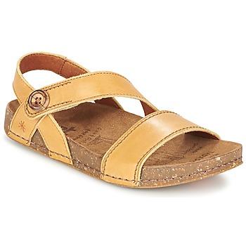 kengät Naiset Sandaalit ja avokkaat Art WE WALK CAMEL