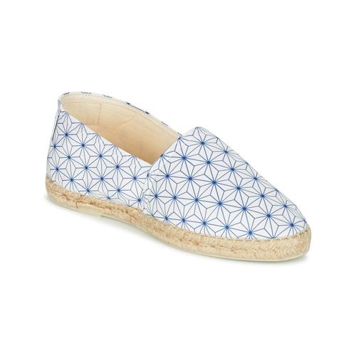 kengät Naiset Espadrillot Maiett ASANOHA Blue / White
