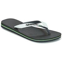 kengät Varvassandaalit Havaianas BRASIL MIX White / Black