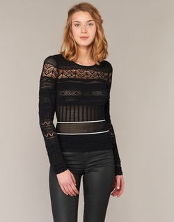 vaatteet Naiset Neulepusero Morgan MARAI Black