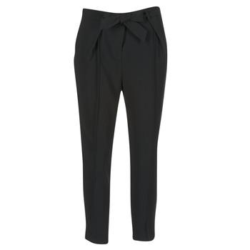 vaatteet Naiset Väljät housut / Haaremihousut Morgan LIKI Black