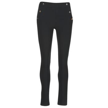 vaatteet Naiset 5-taskuiset housut Morgan PSHAPA Black