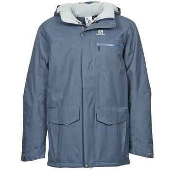 vaatteet Miehet Parkatakki Salomon SKYLINE Blue