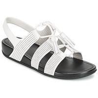 kengät Naiset Sandaalit ja avokkaat FitFlop GLADDIE LACEUP SANDAL White