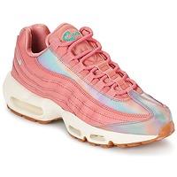 kengät Naiset Matalavartiset tennarit Nike AIR MAX 95 SE W Pink