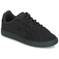 kengät Lapset Matalavartiset tennarit Nike COURT ROYALE GRADE SCHOOL Black