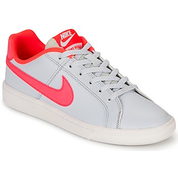 kengät Tytöt Matalavartiset tennarit Nike COURT ROYALE GRADE SCHOOL Grey / Pink