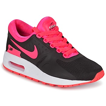 kengät Tytöt Matalavartiset tennarit Nike AIR MAX ZERO ESSENTIAL GRADE SCHOOL Black / Pink