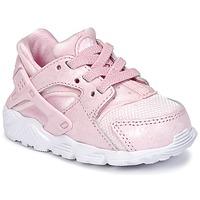 kengät Tytöt Matalavartiset tennarit Nike HUARACHE RUN SE TODDLER Pink