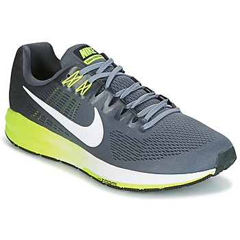 kengät Miehet Juoksukengät / Trail-kengät Nike AIR ZOOM STRUCTURE 21 Grey