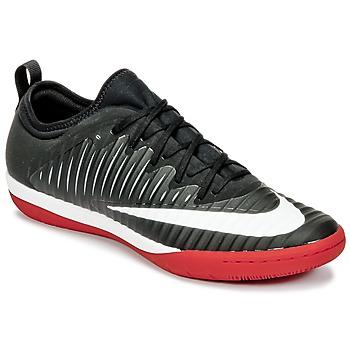 kengät Miehet Jalkapallokengät Nike MERCURIALX FINALE II IC Black / White / Red
