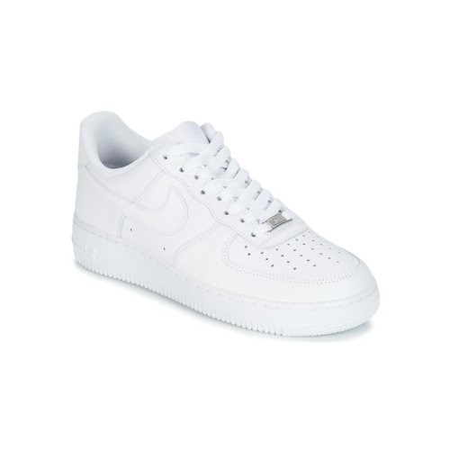 save off 95fd4 d80c9 kengät Miehet Matalavartiset tennarit Nike AIR FORCE 1 07 White