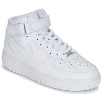 Korkeavartiset tennarit Nike AIR FORCE 1 MID 07 LEATHER