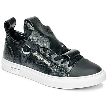 kengät Naiset Matalavartiset tennarit Armani jeans RATONE Black