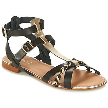 kengät Naiset Sandaalit ja avokkaat Bocage JARET Black / Gold