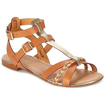 kengät Naiset Sandaalit ja avokkaat Bocage JARET COGNAC