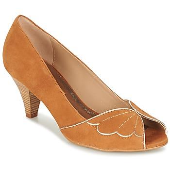 kengät Naiset Korkokengät Bocage DAPHNE COGNAC
