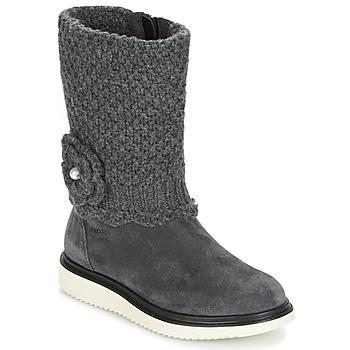 kengät Tytöt Saappaat Geox J THYMAR G. F Grey