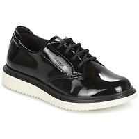 kengät Tytöt Derby-kengät Geox J THYMAR G. B Black