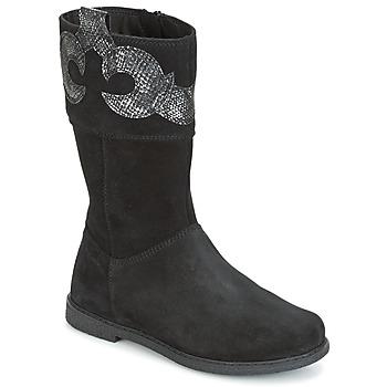 kengät Tytöt Saappaat Geox J SHAWNTEL G. C Black