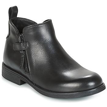 kengät Tytöt Bootsit Geox J AGATA C Black