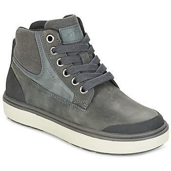 kengät Pojat Korkeavartiset tennarit Geox J MATT.B ABX C Grey
