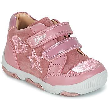 kengät Tytöt Matalavartiset tennarit Geox B N.BALU' G. C Pink