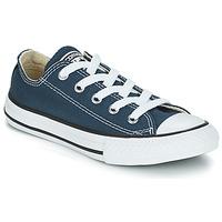 kengät Lapset Matalavartiset tennarit Converse CHUCK TAYLOR ALL STAR CORE OX Laivastonsininen