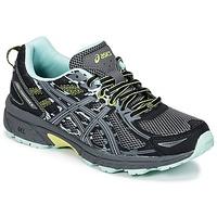 kengät Naiset Juoksukengät / Trail-kengät Asics GEL-VENTURE 6 Black / Green