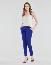 vaatteet Naiset 5-taskuiset housut Betty London BERTHA Sininen