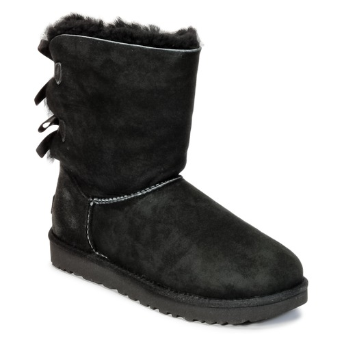 kengät Naiset Bootsit UGG BAILEY BOW II Black
