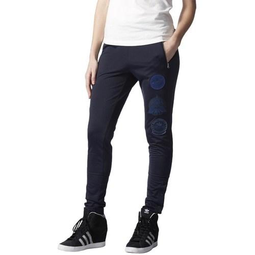 vaatteet Naiset Verryttelyhousut adidas Originals Originals Rita Ora Cosmic Tummansininen