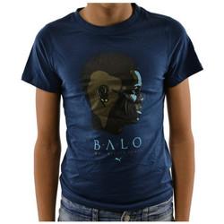 vaatteet Lapset Lyhythihainen t-paita Puma  Sininen